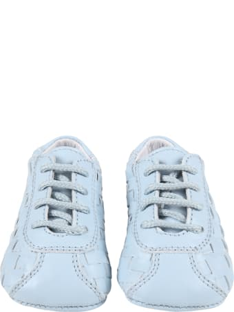 Gallucci Light-blue Shoes For Baby Boy