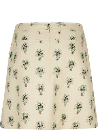 Chloé Floral Printed Short Skirt