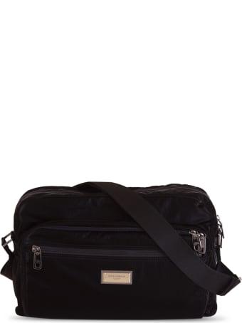 Dolce & Gabbana Dna Nylon Messenger Bag