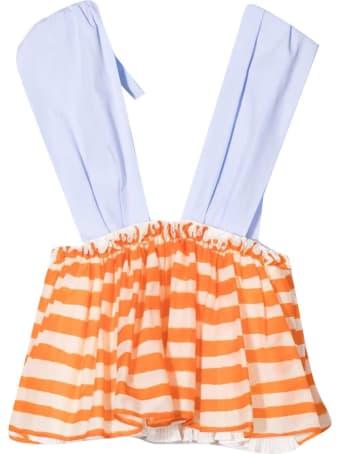 MiMiSol Multicolor Striped Dress Mi Mi Sol Kids