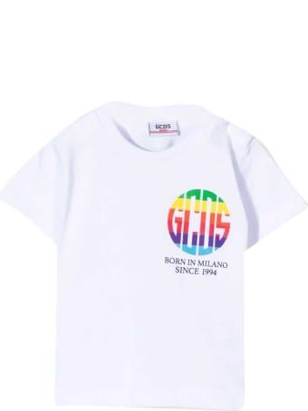 GCDS Mini White T-shirt