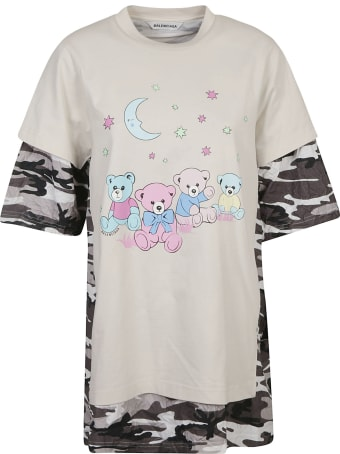 Balenciaga Oversized Printed T-shirt