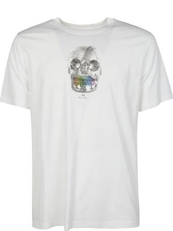 PS by Paul Smith Regular Fit Skull T-shirt