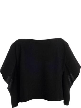 D.Exterior Short Sweater