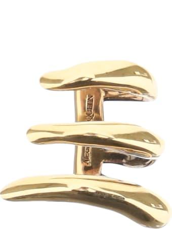 Alexander McQueen Three-circle Single Earring