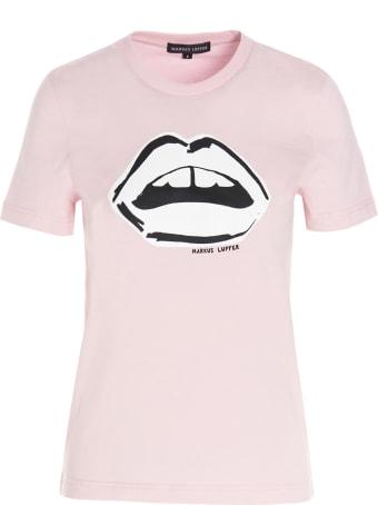 Markus Lupfer 'kate Monochrome Lip' T-shirt