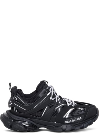 Balenciaga Track Sneakers In Maxi Of Materials With Logo