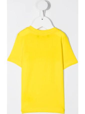 Dsquared2 Newborn Yellow D2kids Boxer Logo T-shirt