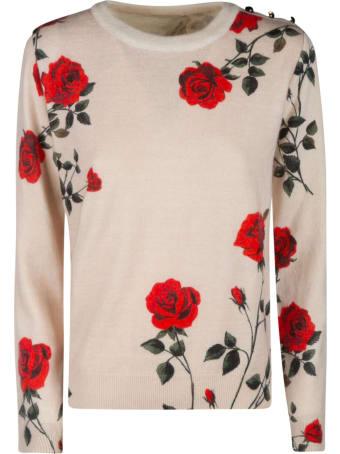 Anna Molinari Floral Sweater