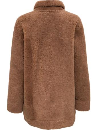 ARMA Curly Brown Reversible Jacket