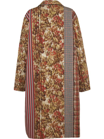Pierre-Louis Mascia Patchwork Patterns Coat