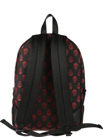 Alexander McQueen All-over Skull Printed Backpack