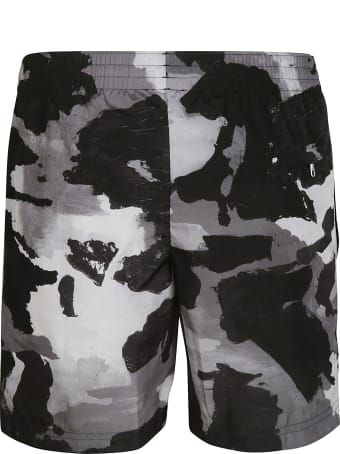 Dolce & Gabbana Camouflage Printed Shorts