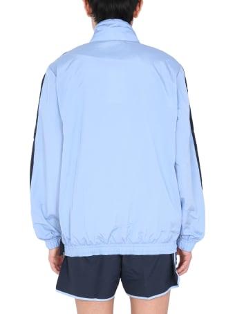 Hugo Boss Boss X Russell Athletic Logo Zip-up Collar Sweatshirt