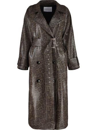 STAND STUDIO Shelby Double-breasted Trench Coat