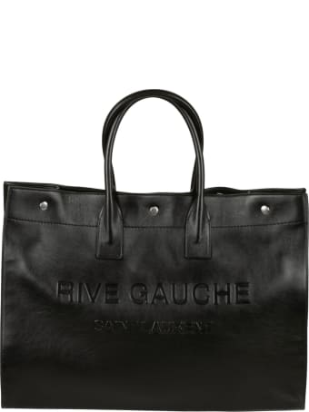 Saint Laurent Knitted Shopper Bag