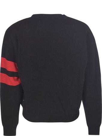 GCDS Round Macro Logo Sweater