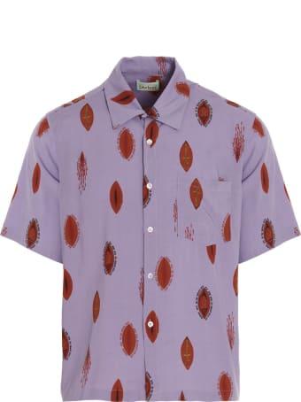 Aries 'sacred Vulva' Bowling Shirt