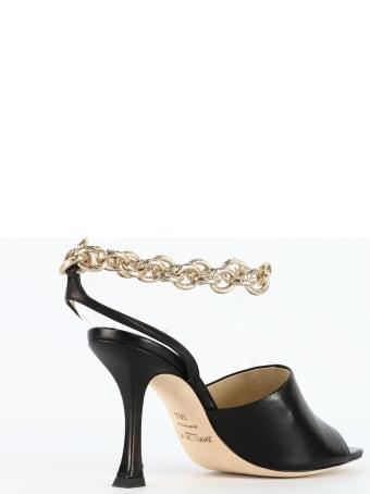 Jimmy Choo Sandals Black/gold