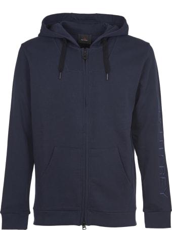 Peuterey Blue Sweatshirt With Zip