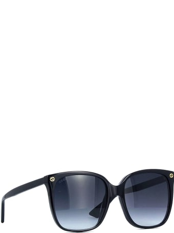 Gucci Gucci Gg0022s Black Sunglasses