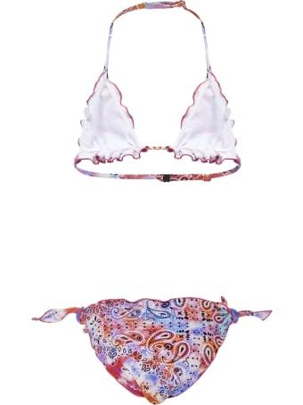 MC2 Saint Barth Bandana Tie Die Bikini