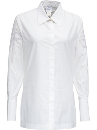 Patou White Cotton Poplin Shirt