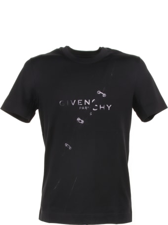 Givenchy T-shirt  In Black Cotton