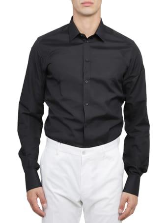 Dolce & Gabbana Docle & Gabbana Black Gold Shirt