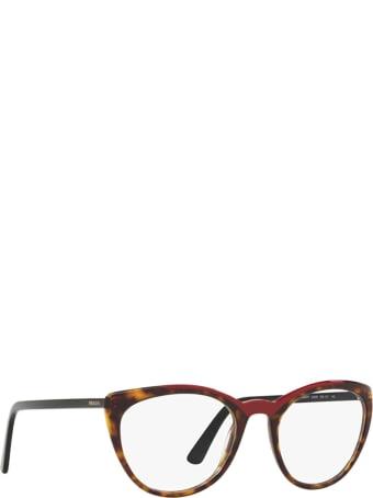 Prada Prada Pr 07vv Havana / Red Glasses