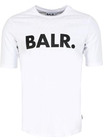 BALR. Logo Print Cotton T-shirt