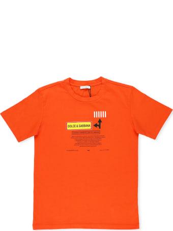 Dolce & Gabbana Road Signs T-shirt