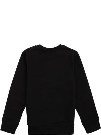Givenchy Black Cotton Sweatshirt With Print
