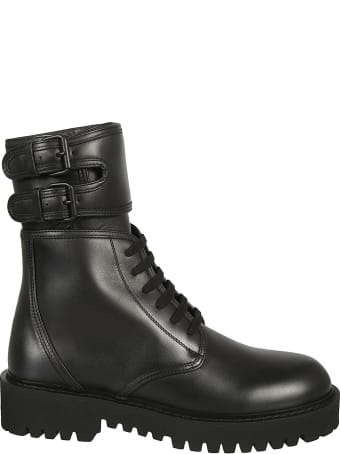 Valentino Garavani Lace-up Combat Boots