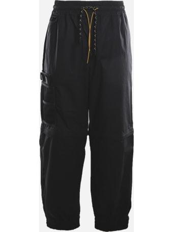 Fendi Cargo Pants Made Of Nylon