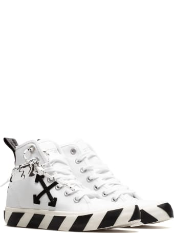 Off-White Mid Top Sneakers