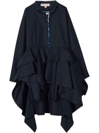 Emilio Pucci Blue Girl Dress