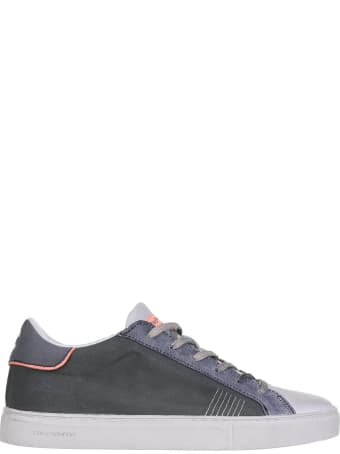 Crime london Sneakers In Leather And Fabric