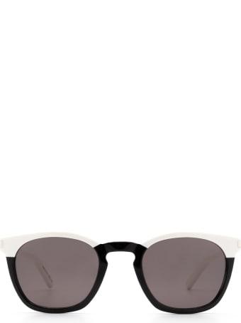 Saint Laurent Saint Laurent Sl 28 Black Sunglasses
