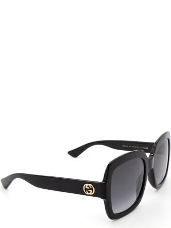 Gucci Gucci Gg0036s Black Sunglasses
