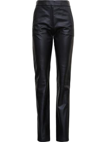 Federica Tosi Black Leather Pants