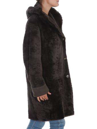 Sylvie Schimmel Casino Lamb Sheraling Jacket