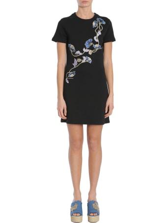 Carven Short Sleeve Dress