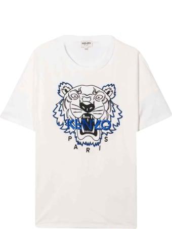 Kenzo Kids White Teen T-shirt