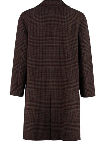 Paltò Riccardo Double-breasted Wool Coat