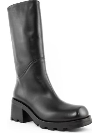 Elena Iachi Boot In Black Leather