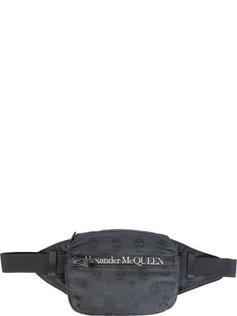 Alexander McQueen Urban Biker Skull Belt Bag