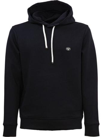 Emporio Armani Cotton Sweatshirt. Hood