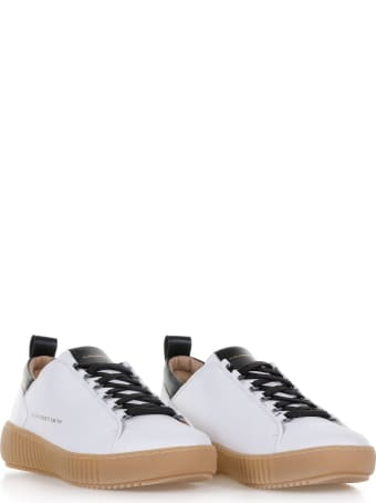 Alexander Smith London Baker Sneaker With Contrast Sole