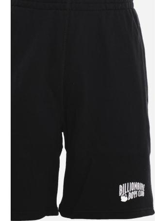 Billionaire Boys Club Cotton Shorts With Logo Patch